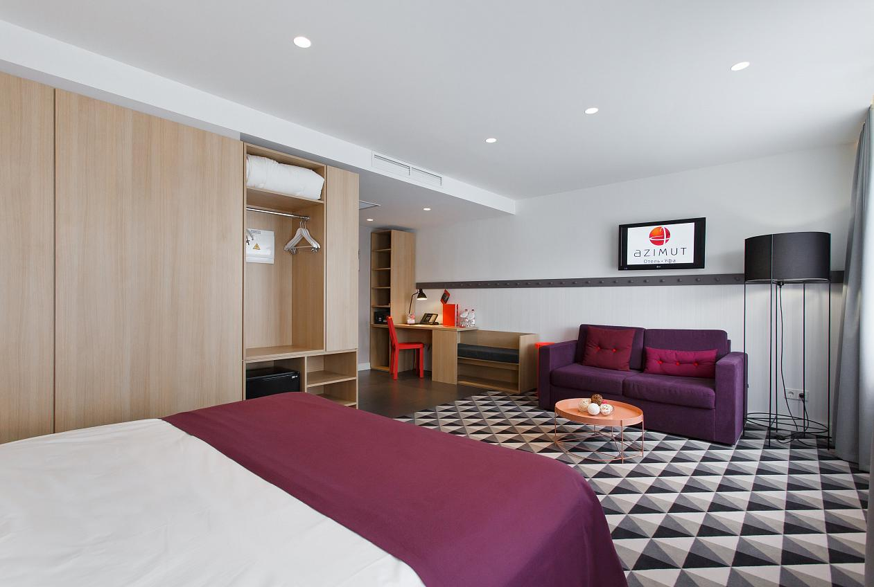 AZIMUT Hotel Ufa Rooms