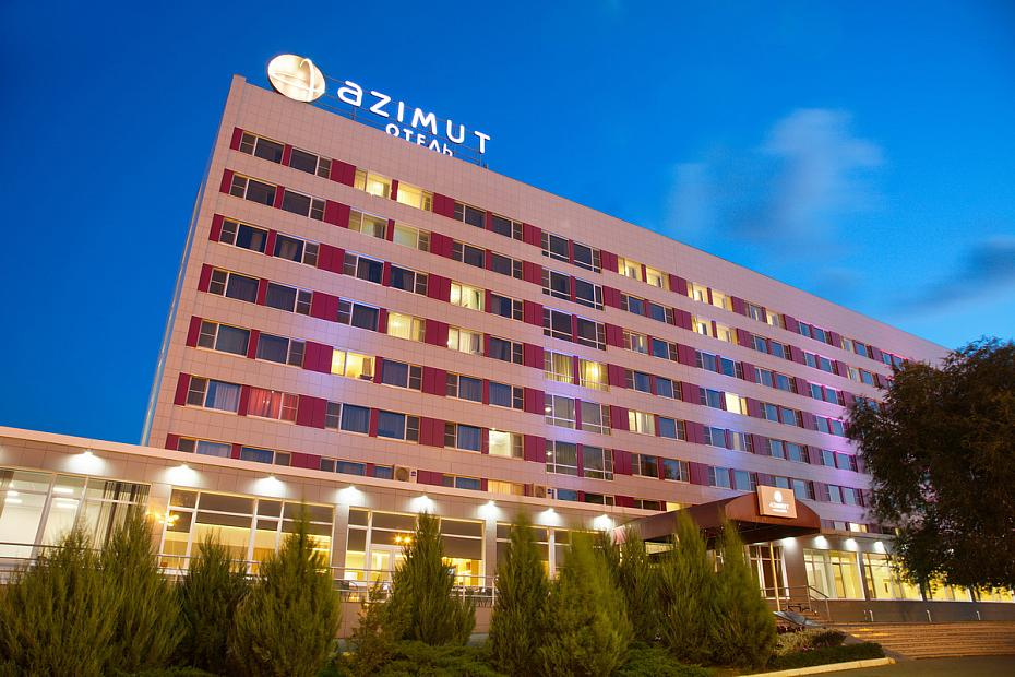 AZIMUT Hotel Astrakhan Hotel exterior view