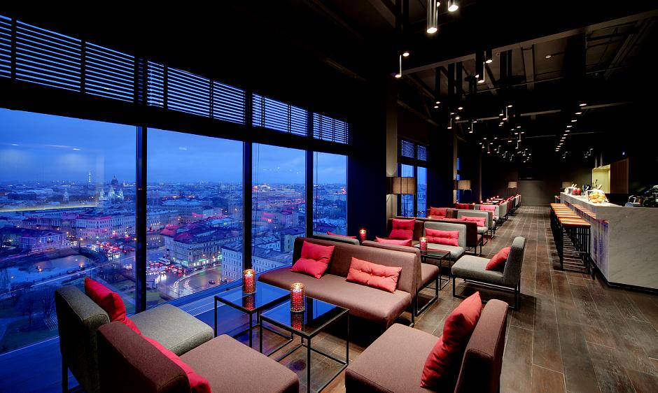 AZIMUT Hotel Saint Petersburg SKY Bar