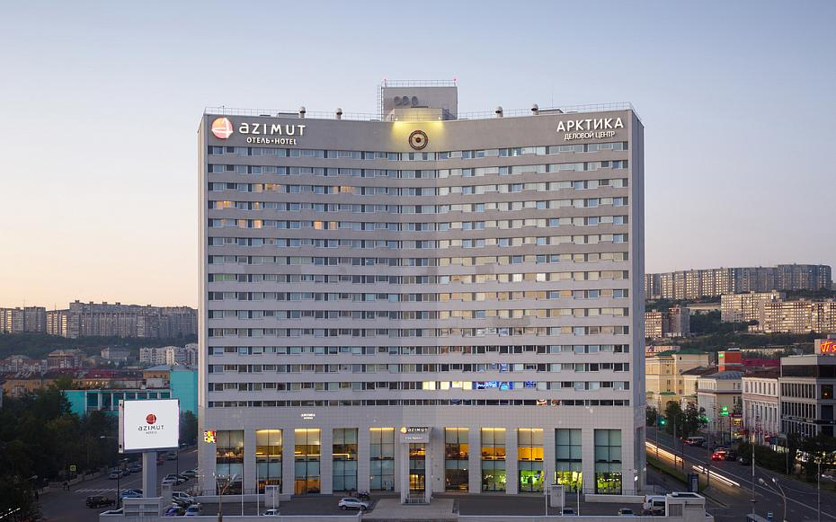 AZIMUT Hotel Murmansk Hotel exterior view