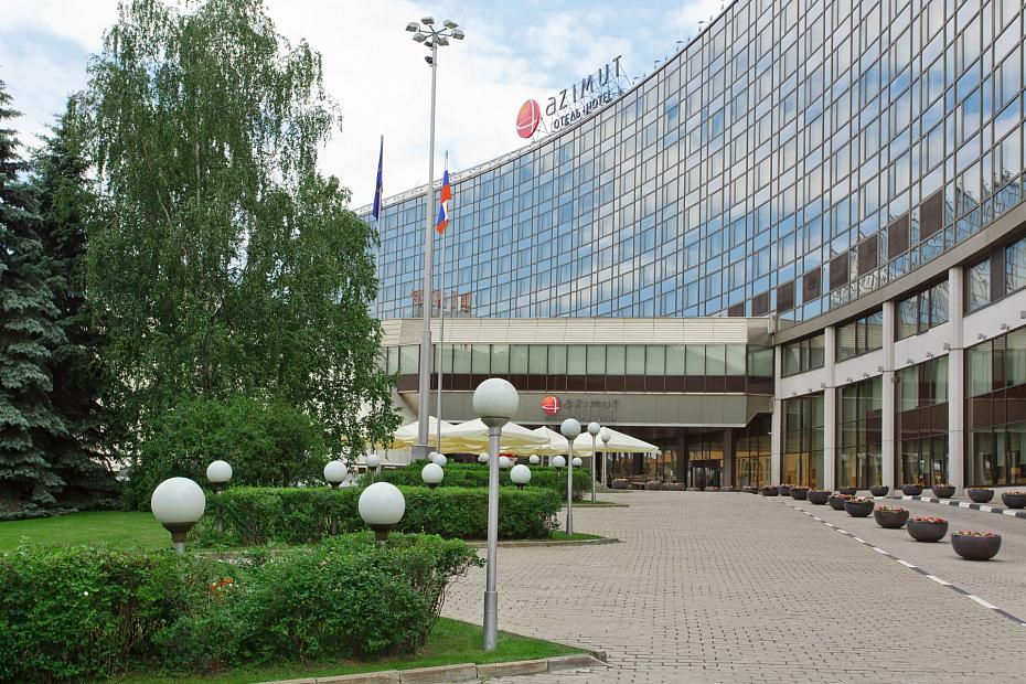 AZIMUT Hotel Olympic Moscow Hotel exterior view
