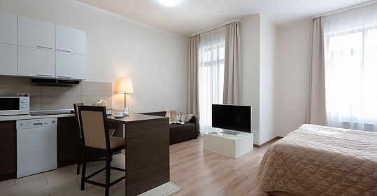 Apartments Studio Deluxe with balcony